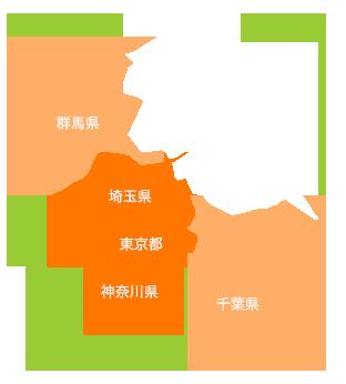 関東マップ